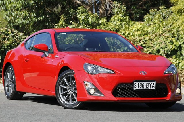Used Toyota 86 ZN6 GT, 2014 Toyota 86 ZN6 GT Fuji Red 6 Speed Sports Automatic Coupe