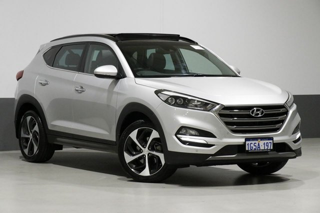 Used Hyundai Tucson TLE Highlander R-Series (awd), 2015 Hyundai Tucson TLE Highlander R-Series (awd) Silver 6 Speed Automatic Wagon