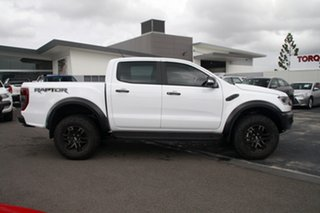 2018 Ford Ranger PX MkIII 2019.00MY Raptor Pick-up Double Cab Frozen White 10 Speed Sports Automatic.