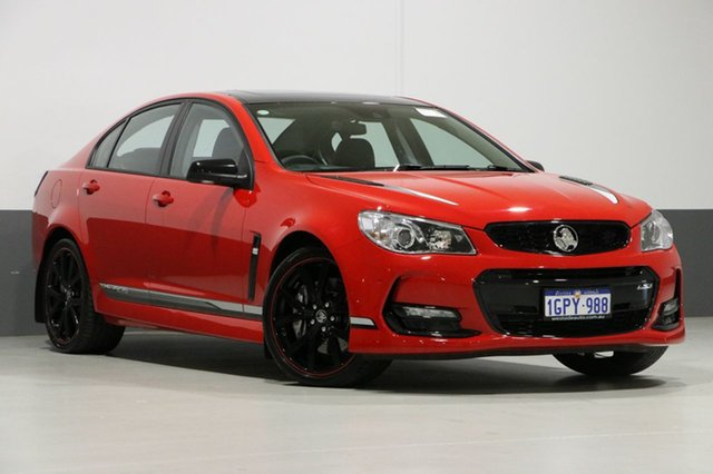 Used Holden Commodore VF II MY17 SS-V Redline Motorsport EDT, 2017 Holden Commodore VF II MY17 SS-V Redline Motorsport EDT Red 6 Speed Manual Sedan