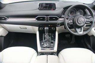 2018 Mazda CX-8 KG4W2A Asaki SKYACTIV-Drive i-ACTIV AWD Machine Grey 6 Speed Sports Automatic Wagon