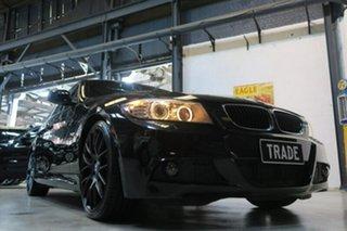 2011 BMW 320d E90 MY1011 Lifestyle Steptronic Black 6 Speed Sports Automatic Sedan.