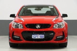 2017 Holden Commodore VF II MY17 SS-V Redline Motorsport Edt Red 6 Speed Manual Sedan.