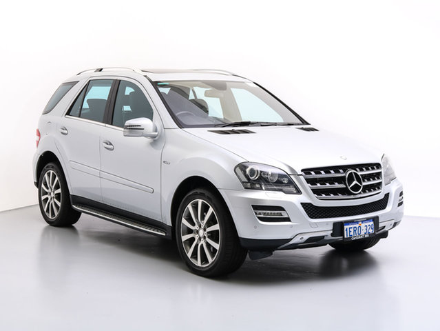 Used Mercedes-Benz ML320 CDI W164 09 Upgrade 4x4, 2011 Mercedes-Benz ML320 CDI W164 09 Upgrade 4x4 Silver 7 Speed Automatic G-Tronic Wagon