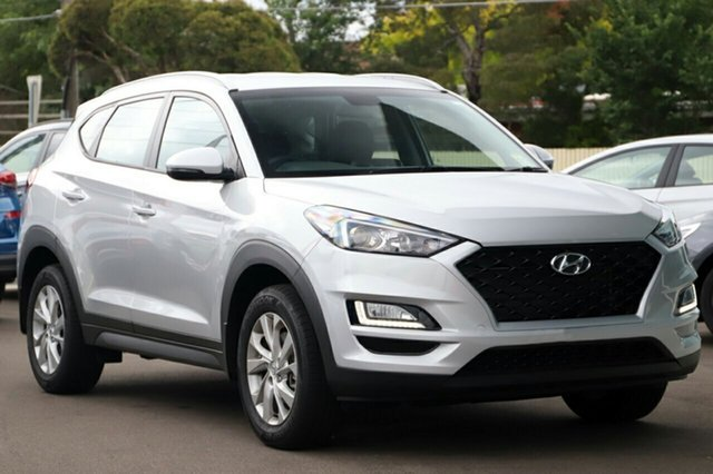 New Hyundai Tucson TL3 MY19 Active X 2WD, 2019 Hyundai Tucson TL3 MY19 Active X 2WD Platinum Silver 6 Speed Automatic Wagon