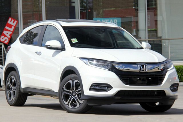 New Honda HR-V MY19 VTi-LX, 2019 Honda HR-V MY19 VTi-LX White Orchid 1 Speed Constant Variable Hatchback