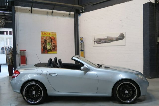 Used Mercedes-Benz SLK350 R171 MY06 , 2005 Mercedes-Benz SLK350 R171 MY06 Silver 7 Speed Automatic Roadster