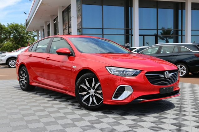 Used Holden Commodore ZB MY18 RS Liftback, 2018 Holden Commodore ZB MY18 RS Liftback Red 9 Speed Sports Automatic Liftback