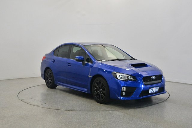 Used Subaru WRX V1 MY15 Premium Lineartronic AWD, 2015 Subaru WRX V1 MY15 Premium Lineartronic AWD Blue 8 Speed Constant Variable Sedan