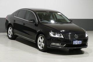 2015 Volkswagen Passat 3C MY15 118 TSI Black 7 Speed Auto Direct Shift Sedan