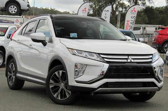 New Mitsubishi Eclipse Cross YA MY18 Exceed 2WD, 2018 Mitsubishi Eclipse Cross YA MY18 Exceed 2WD Sterling Silver 8 Speed Constant Variable Wagon