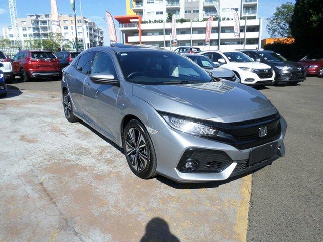 Used Honda Civic 10th Gen MY17 VTI-LX, 2017 Honda Civic 10th Gen MY17 VTI-LX Silver 1 Speed Constant Variable Hatchback