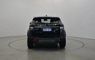 2017 Land Rover Range Rover Evoque L538 MY18 TD4 150 SE Black 9 Speed Sports Automatic Wagon
