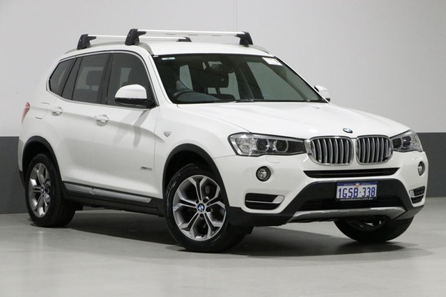 Used BMW X3 F25 MY16 xDrive 20D, 2016 BMW X3 F25 MY16 xDrive 20D White 8 Speed Automatic Wagon