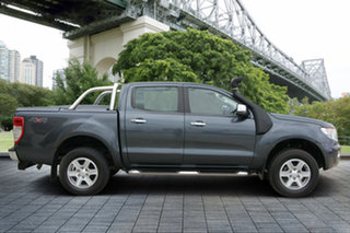 2014 Ford Ranger PX XLT Double Cab Grey 6 Speed Manual Utility.