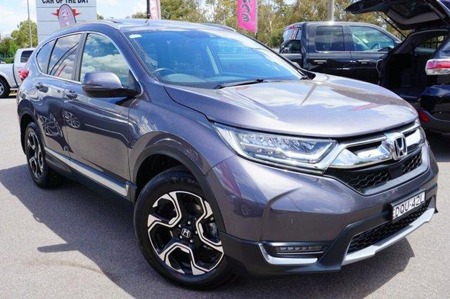 Used Honda CR-V RW MY18 VTi-LX 4WD, 2017 Honda CR-V RW MY18 VTi-LX 4WD Grey 1 Speed Constant Variable Wagon