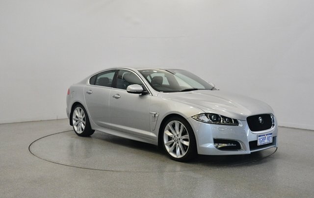 Used Jaguar XF X250 MY12 Luxury, 2011 Jaguar XF X250 MY12 Luxury Silver 6 Speed Sports Automatic Sedan
