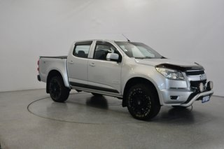 2013 Holden Colorado RG MY13 LT Crew Cab Silver 6 Speed Sports Automatic Utility.