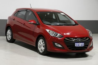 2014 Hyundai i30 GD MY14 SE Red 6 Speed Automatic Hatchback