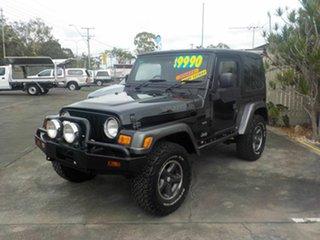 2004 Jeep Wrangler TJ Extreme Sport ED Black 5 Speed Manual 4x4 Hardtop.