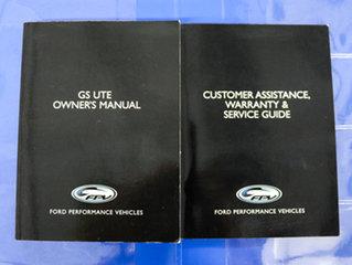 2010 FPV GS FG MY11 Grey 6 Speed Manual Utility