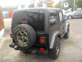2004 Jeep Wrangler TJ Extreme Sport ED Black 5 Speed Manual 4x4 Hardtop