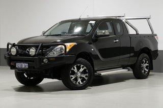 2012 Mazda BT-50 XTR (4x4) Black 6 Speed Manual Freestyle Utility.