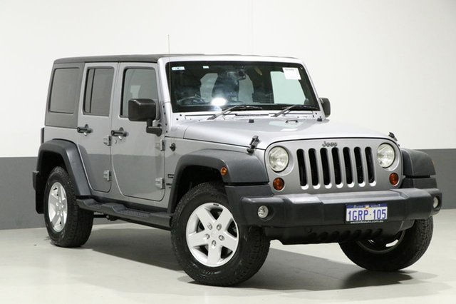 Used Jeep Wrangler Unlimited JK MY13 Sport (4x4), 2014 Jeep Wrangler Unlimited JK MY13 Sport (4x4) Silver 5 Speed Automatic Softtop