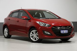2014 Hyundai i30 GD MY14 SE Red 6 Speed Automatic Hatchback.