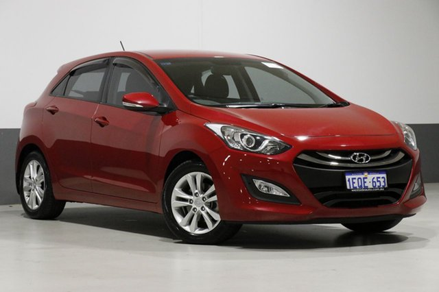 Used Hyundai i30 GD MY14 SE, 2014 Hyundai i30 GD MY14 SE Red 6 Speed Automatic Hatchback