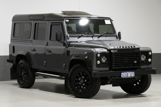 Used Land Rover Defender MY16 110 (4x4), 2016 Land Rover Defender MY16 110 (4x4) Corris Grey 6 Speed Manual Wagon