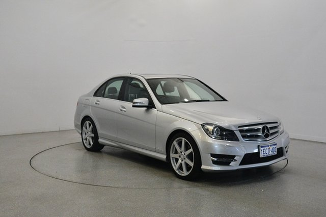 Used Mercedes-Benz C250 W204 MY13 Elegance 7G-Tronic +, 2013 Mercedes-Benz C250 W204 MY13 Elegance 7G-Tronic + Silver 7 Speed Sports Automatic Sedan