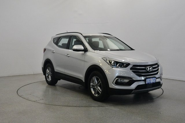Used Hyundai Santa Fe DM5 MY18 Active, 2018 Hyundai Santa Fe DM5 MY18 Active Platinum Silver Metallic 6 Speed Sports Automatic Wagon