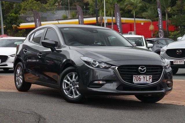 Demo Mazda 3 BN5478 Neo SKYACTIV-Drive Sport, 2018 Mazda 3 BN5478 Neo SKYACTIV-Drive Sport Machine Grey 6 Speed Sports Automatic Hatchback