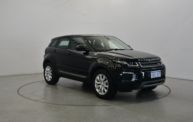 Used Land Rover Range Rover Evoque L538 MY18 TD4 150 SE, 2017 Land Rover Range Rover Evoque L538 MY18 TD4 150 SE Black 9 Speed Sports Automatic Wagon