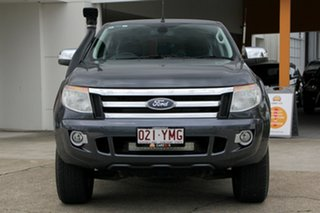 2014 Ford Ranger PX XLT Double Cab Grey 6 Speed Manual Utility
