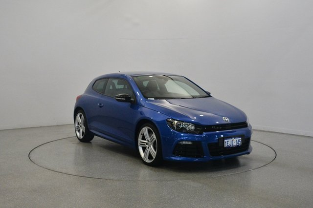 Used Volkswagen Scirocco 1S MY14 R Coupe DSG, 2013 Volkswagen Scirocco 1S MY14 R Coupe DSG Rising Blue 6 Speed Sports Automatic Dual Clutch