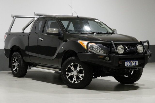 Used Mazda BT-50  XTR (4x4), 2012 Mazda BT-50 XTR (4x4) Black 6 Speed Manual Freestyle Utility