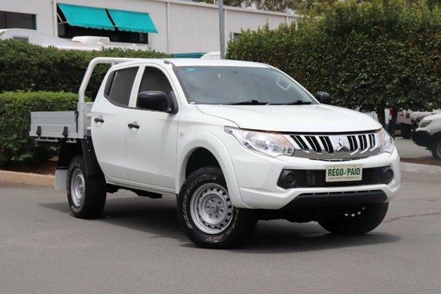 Used Mitsubishi Triton MQ MY16 GLX Double Cab 4x2, 2015 Mitsubishi Triton MQ MY16 GLX Double Cab 4x2 White 5 Speed Sports Automatic Utility