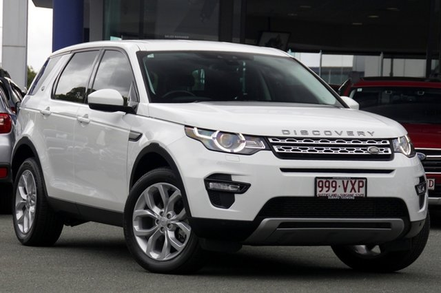 Used Land Rover Discovery Sport L550 15MY SD4 HSE, 2015 Land Rover Discovery Sport L550 15MY SD4 HSE White 9 Speed Sports Automatic Wagon