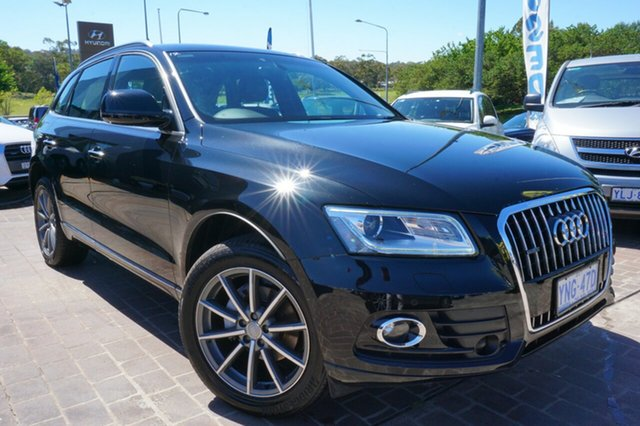 Used Audi Q5 8R MY17 TDI S tronic quattro Sport Edition, 2016 Audi Q5 8R MY17 TDI S tronic quattro Sport Edition Black 7 Speed Sports Automatic Dual Clutch