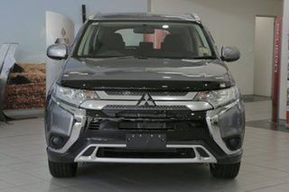 2018 Mitsubishi Outlander ZL MY19 ES 7 Seat (2WD) Titanium Grey Continuous Variable Wagon