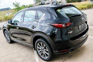 2018 Mazda CX-5 KF4WLA Akera SKYACTIV-Drive i-ACTIV AWD Jet Black 6 Speed Sports Automatic Wagon.