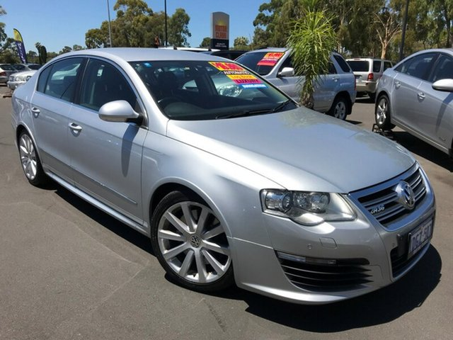 Used Volkswagen Passat Type 3C MY09 R36 DSG 4MOTION, 2009 Volkswagen Passat Type 3C MY09 R36 DSG 4MOTION Silver 6 Speed Sports Automatic Dual Clutch