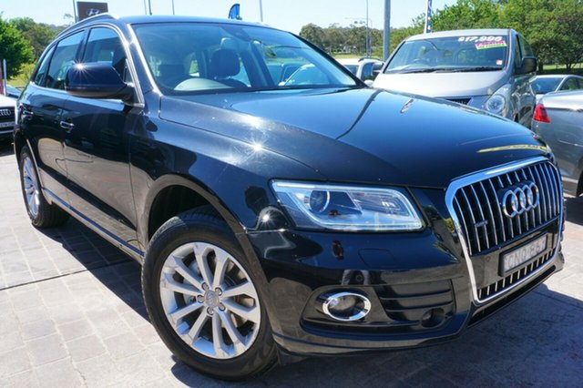 Used Audi Q5 8R MY13 TDI S tronic quattro, 2013 Audi Q5 8R MY13 TDI S tronic quattro Black 7 Speed Sports Automatic Dual Clutch Wagon