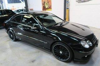 2009 Mercedes-Benz CLK280 C209 MY08 Avantgarde Black 7 Speed Automatic Coupe.