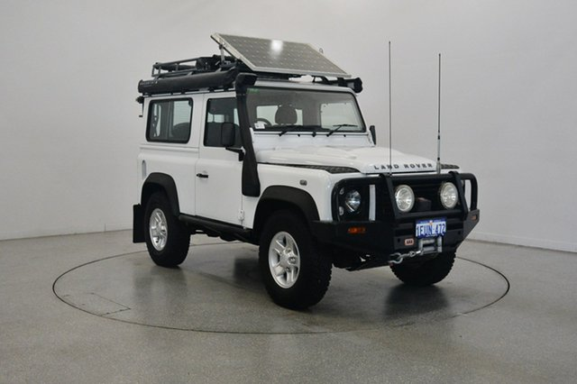 Used Land Rover Defender 90 12MY , 2012 Land Rover Defender 90 12MY White 6 Speed Manual Wagon