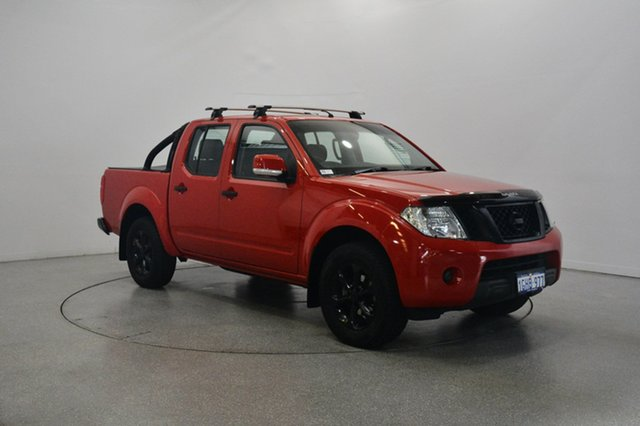 Used Nissan Navara D40 S6 MY12 ST, 2012 Nissan Navara D40 S6 MY12 ST Red 6 Speed Manual Utility