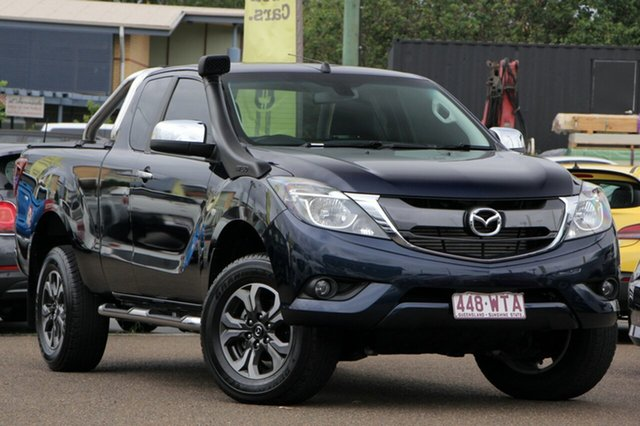 Used Mazda BT-50 UR0YG1 XTR Freestyle, 2016 Mazda BT-50 UR0YG1 XTR Freestyle Blue 6 Speed Sports Automatic Utility