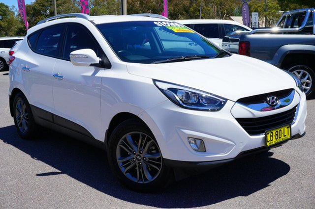 Used Hyundai ix35 LM3 MY14 Elite AWD, 2014 Hyundai ix35 LM3 MY14 Elite AWD White 6 Speed Sports Automatic Wagon